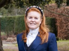 Sarah, Duchess of York promoting her Mills & Boon romance book (HarperCollins/PA)