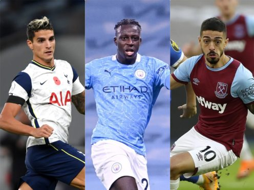 Erik Lamela, Benjamin Mendy and Manuel Lanzini are among those to have broken lockdown rules (Mike Hewitt/Laurence Griffiths/Kirsty Wigglesworth/PA)
