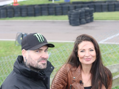 Shane Lynch and Torie Campbell (Men and Motors/PA)