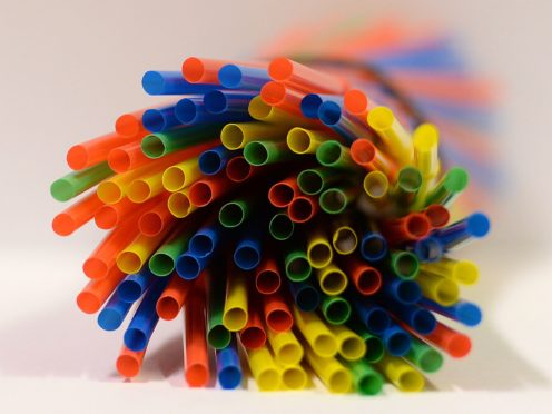 Environmental campaigners say it is 'imperative' the Scottish Government tackles single use plastic items, such as disposable straws (Kirsty O'Connor/PA)