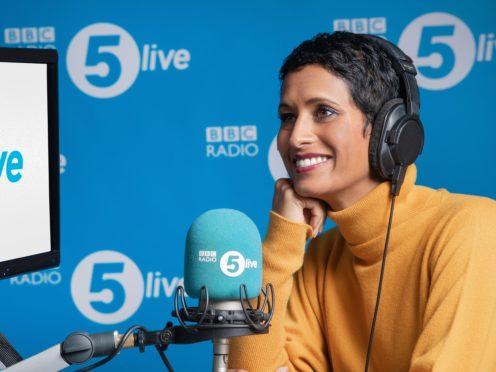 Naga Munchetty, who has begun her new job on BBC Radio 5 Live (BBC/PA)