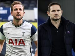Harry Kane and Frank Lampard (Andy Rain/ Clive Brunskill/PA)