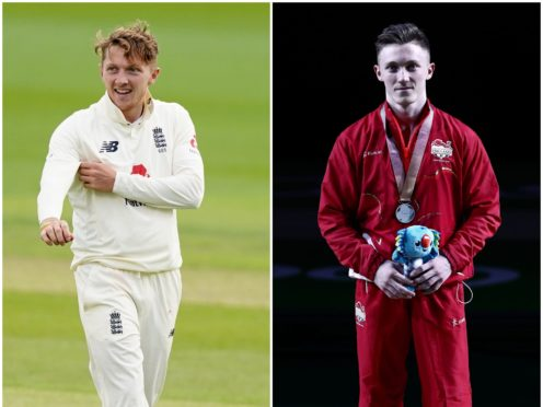 Dom Bess and Nile Wilson were in the spotlight on Thursday (Danny Lawson/Jon Super/NMC Pool/PA)