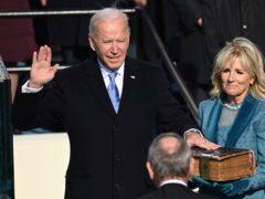 Joe Biden is sworn in as the 46th president of the United States (Saul Loeb/Pool Photo via AP)