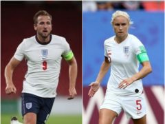 England captains Harry Kane and Steph Houghton will be hoping for tournament glory in the coming years (Nick Potts/Richard Sellers/PA)