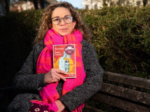 Monique Roffey, announced as winner of the 2020 Costa Book of the Year for her novel, The Mermaid of Black Conchon (Ian Gavan/Getty Images for Costa Book of the Year)
