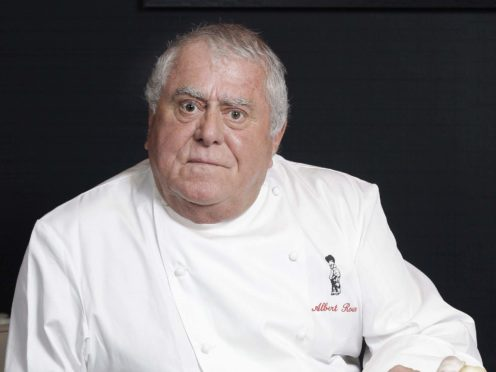 Albert Roux has died at the age of 85 (PA)