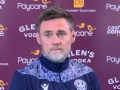New boss Graham Alexander feels no drastic action is required at Motherwell (Ronnie Esplin/PA)