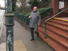 Brentford FC fan Steven Green has been fined after calling a rival fan the n-word (Luke Powell/PA)