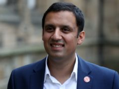 Anas Sarwar said he already has the support of a quarter of Labour councillors (Andrew Milligan/PA)