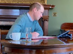 The Duke of Cambridge has been speaking to NHS staff involved with the vaccine rollout (Kensington Palace)