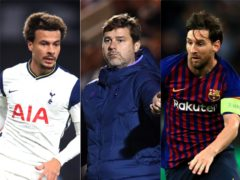 Could Mauricio Pochettino be targeting Dele Alli or Lionel Messi? (PA)