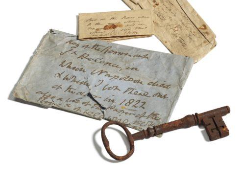 The key unlocked Napoleons's prison bedroom (Sotheby's)