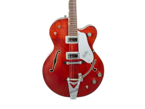 Rare guitars used by musicians including George Harrison, Bono and Tom Petty are going under the hammer for charity (Julien's Auctions/PA)