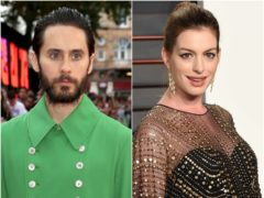 Jared Leto and Anne Hathaway will star in an Apple TV+ drama about the office space start-up WeWork (PA)