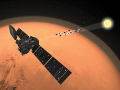 ExoMars Trace Gas Orbiter analyses the martian atmosphere (ESA/ATG medialab/PA)