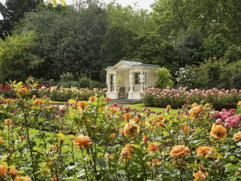 The Rose Garden at Buckingham Palace (Royal Collection Trust/Her Majesty Queen Elizabeth II 2021/PA)