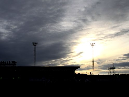 Arbroath faced Raith at Gayfield Park (Lynne Cameron/PA)