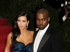 Kim Kardashian and Kanye West (Dennis Van Tine/PA)
