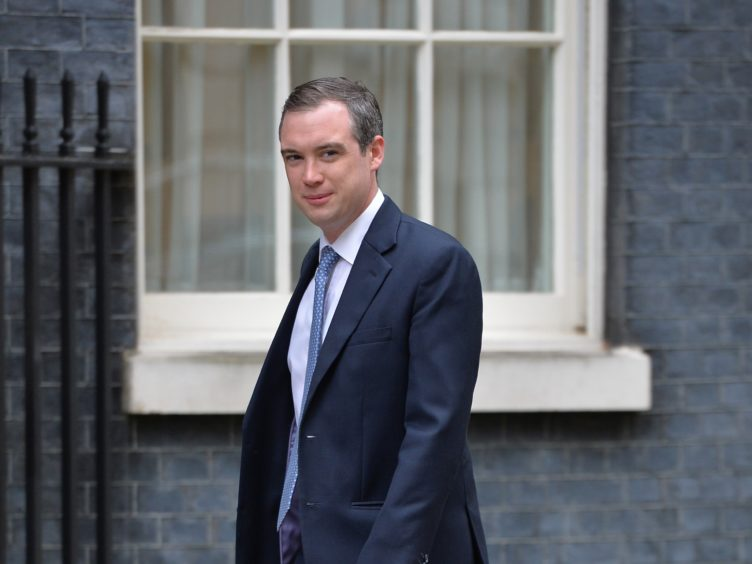 James Wharton arrives in Downing Street for talks Prime Minister David Cameron where he was made Parliamentary Under Secretary of State at the Department for Communities and Local Government with responsibility for the Northern Powerhouse.