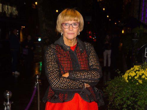 Anne Robinson (Dominic Lipinski/PA)