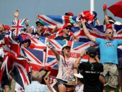 Cheering will be discouraged at the Tokyo Olympics (David Davies/PA)