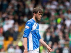 St Johnstone's Murray Davidson is on course to a return for the Betfred Cup final (Jeff Holmes/PA)