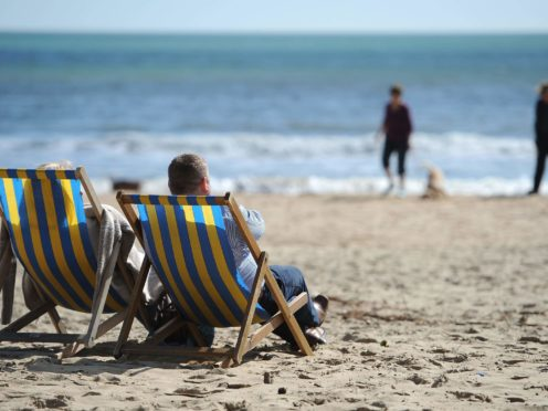 There is 'pent -up demand' for holidays, travel firms have said (Andrew Matthews/PA)