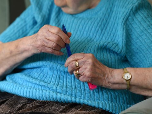 Sir Andrew Dilnot says England's social care system is not adequate (Joe Giddens/PA)