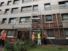Amendments have been tabled to the Fire Safety Bill (Peter Byrne/PA)