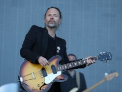 Thom Yorke from Radiohead (Andrew Milligan/PA)