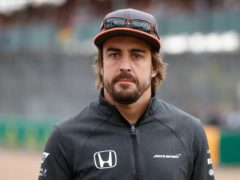 Fernando Alonso has been involved in a cycling accident in Switzerland (Martin Rickett/PA)