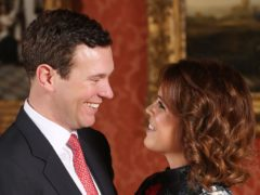 Princess Eugenie and Jack Brooksbank have left hospital with their baby son (Jonathan Brady/PA)