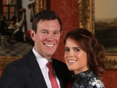 Princess Eugenie and Jack Brooksbank have welcomed their first child (Jonathan Brady/PA)