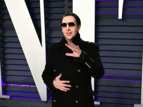 Marilyn Manson (Ian West/PA)