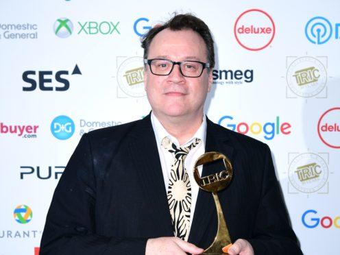 Russell T Davies (Ian West/PA)