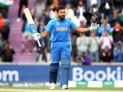 Rohit Sharma's century took control away from England (Adam Davy/PA)