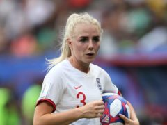 Alex Greenwood is among a large contingent of Manchester City players in England's squad for the friendly against Northern Ireland (Richard Sellers/PA)