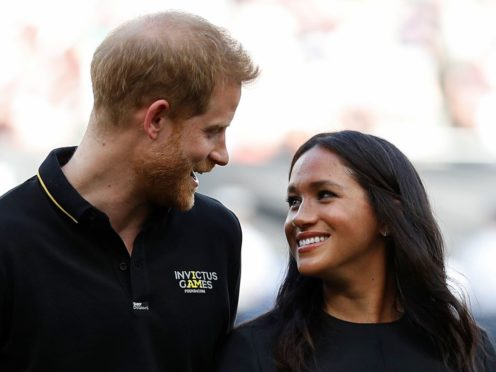 The Duke and Duchess of Sussex are expecting another baby (Peter Nicholls/PA)