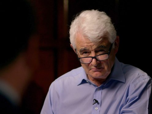 John Ware, presenter of Panorama programme Is Labour Anti-Semitic?, has won the first round of a libel case over allegations that the documentary was 'a piece of rogue journalism' (BBC/PA)