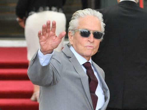 Michael Douglas shared a tribute to his father Kirk to mark a year since the Hollywood giant died at the age of 103 (Ben Birchall/PA)