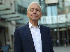 John Humphrys outside the BBC (Yui Mok/PA)