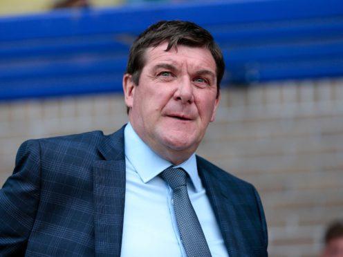 New Kilmarnock boss Tommy Wright (Graham Stuart/PA)