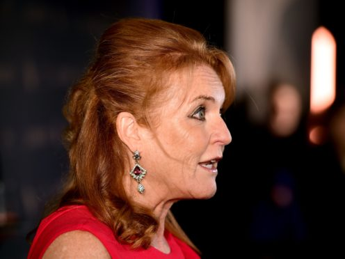 Sarah Ferguson, the Duchess of York (Ian West/PA)