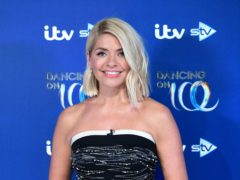 Holly Willoughby celebrated her 40th birthday on This Morning (Ian West/PA)