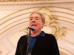 Andrew Lloyd Webber (Giles Anderson/PA)