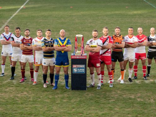 Super League clubs will be starting at the end of March (PA)