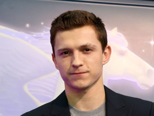 Tom Holland has teased fans with the title for the upcoming Spider-Man film (Lauren Hurley/PA)