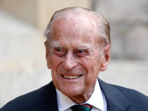 The Duke of Edinburgh has spent a seventh night in hospital (Adrian Dennis/PA)