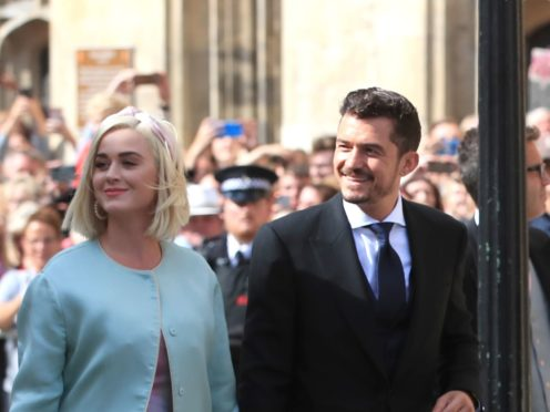 Katy Perry said motherhood was 'the best decision I ever made' as she opened up on being a parent with 'incredible' fiance Orlando Bloom (Peter Byrne/PA)